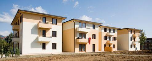 Wiederaufbau Erdbebengebiet Wohnanlage 1, L'Aquila | Italien