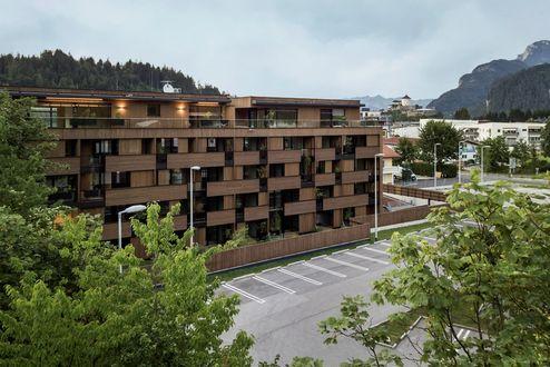 Aussenansicht mit Blick auf die Festung Kufstein © Foto Gretter / Unterberger Immobilien