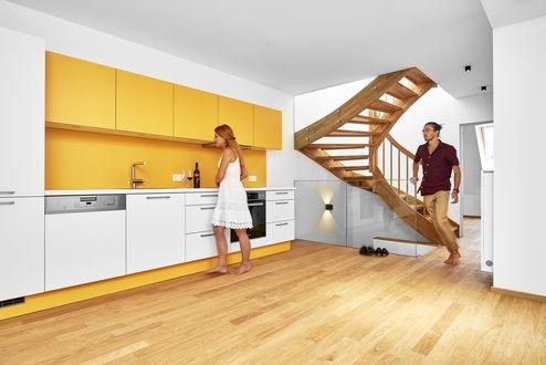 Wohnküche © Gerhard Hauser, Alexander Schmid