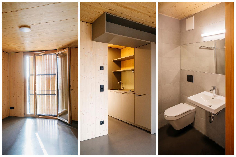 Appartamento ammobiliato senza barriere architettoniche in qualità a vista residenziale © Manfred Jarisch, Bayerische Staatsforsten