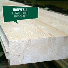 Éléments de plafond en bois lamellé-collé