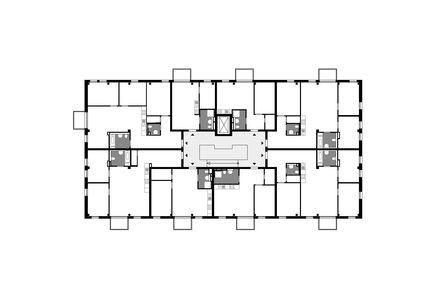 Grundriss © Deimel Oelschlaeger Architekten