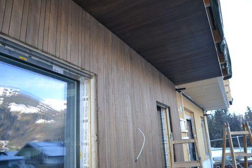 Fassade aus Weißtanne © binderholz