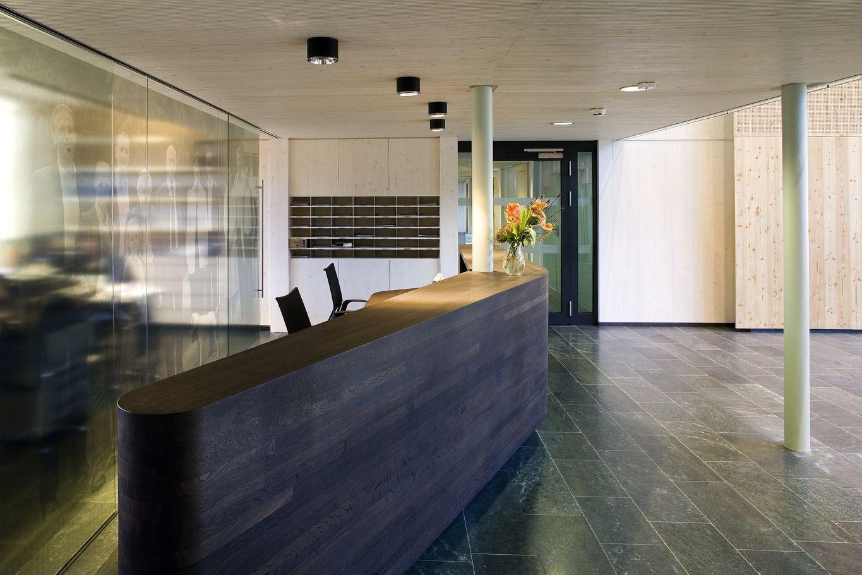 binderholz headquarter Empfangsbereich