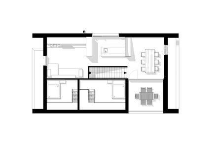 Grundriss Dach-Ebene © m3-zt