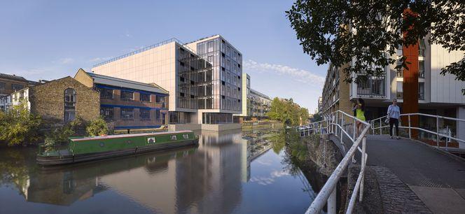 Aussenansicht Orsman Road 6, direkt am Regent´s Canal © B&K Structures Ltd. Peveril House