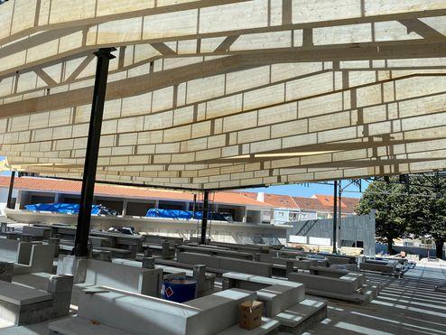 Panneaux 3 plis en bois massif binderholz sur ossature métallique © R6 Living