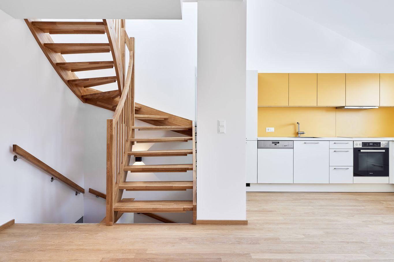 Mehrgeschossige Wohneinheit © Gerhard Hauser, Alexander Schmid