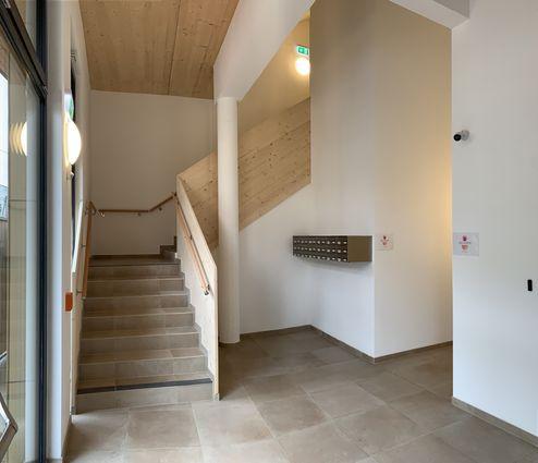 Stiegenhaus © Karl Mach Holzbau GmbH