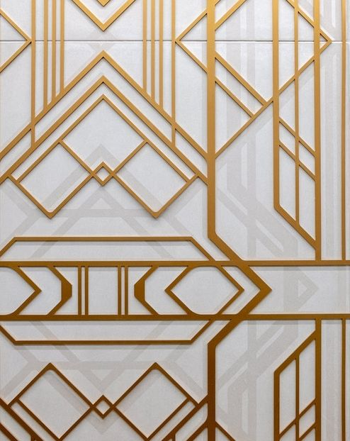 Ornament auf der Wand © RED Construction Group