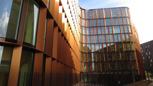 Businesscenter 'Curve' Außenansicht © binderholz