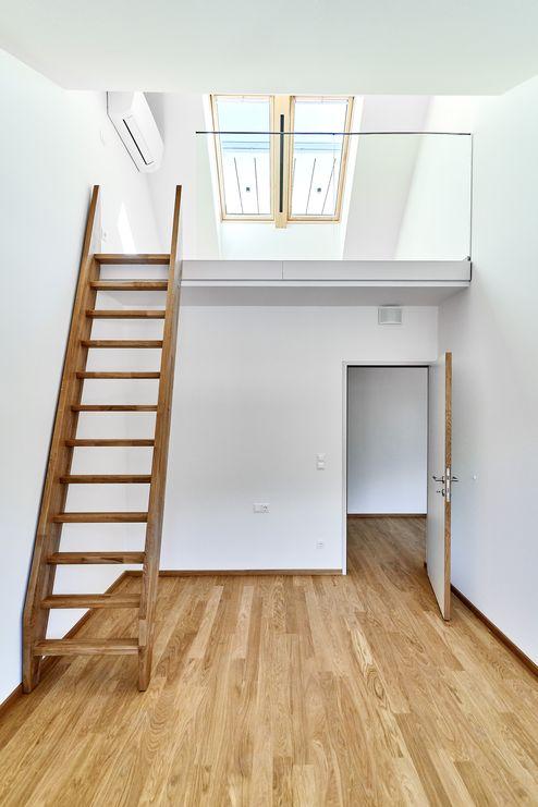 Nutzbarer Raum im Dachgeschoss © Gerhard Hauser, Alexander Schmid