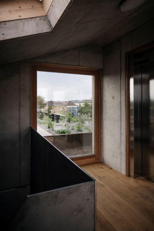 Ampie finestre con vista sulla terrazza © Manfred Jarisch, Bayerische Staatsforsten