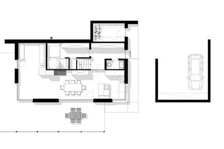 Grundriss Untere-Ebene © m3-zt