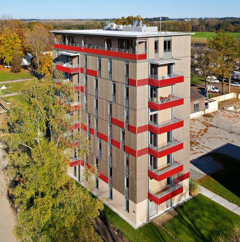 8-geschossiges Holzgebäude, Bad Aibling | Deutschland
