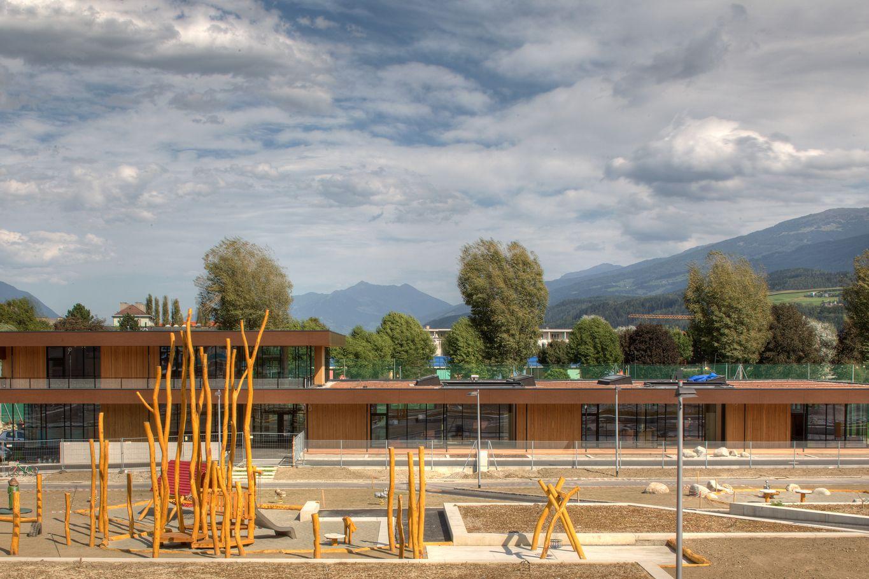 Ost-Ansicht des Kindergartens