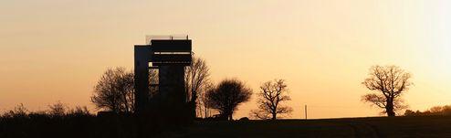 Panoramablick zum Wasserturm © Mike Tonkin and Dennis Pederson
