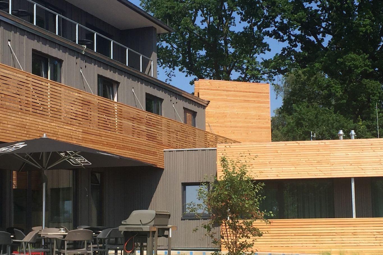 Holz als zentrales Element © Architekten Rissmann & Spieß