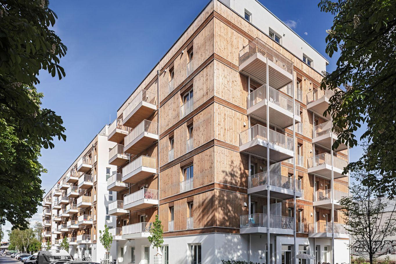 Außenansicht des Wohnbaus 'Lynarstraße' @ Schäferwenningerprojekt GmbH
