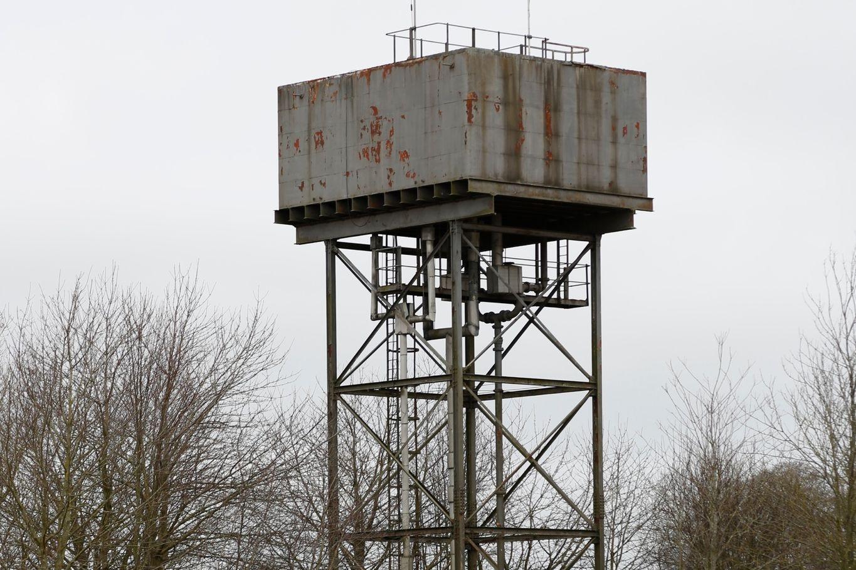 Der ehemalige Wasserturm © Mike Tonkin and Dennis Pederson