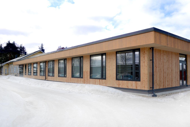 binderholz Bürogebäude, Lieksa