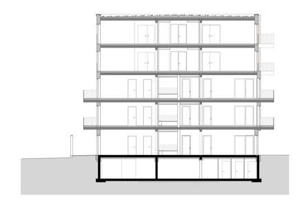 Schnitt © Deimel Oelschlaeger Architekten