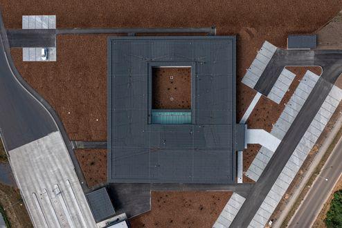 Vista dalla prospettiva a volo d'uccello © www.florianhammerich.com