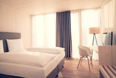 Hotelzimmer- Innenansicht © Conné van d'Grachten