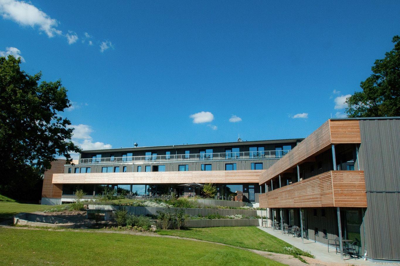 Blick von Innenhof auf den Neubaus des Hotels © Architekten Rissmann & Spieß