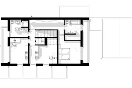 Das Obergeschoss benötigt fast keine Gangfläche © m3-zt