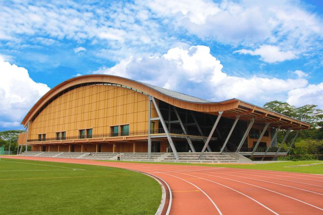 The Wave - Sporthalle NTU Universität, Singapur | Republik Singapur