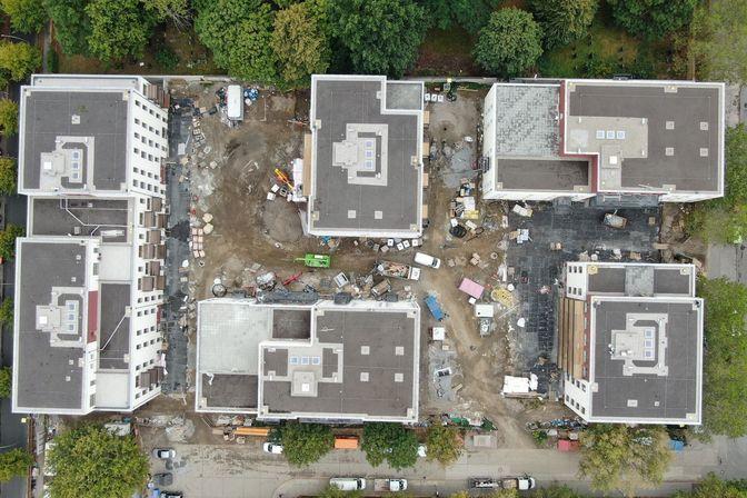 Die Baustelle von oben © Terhalle