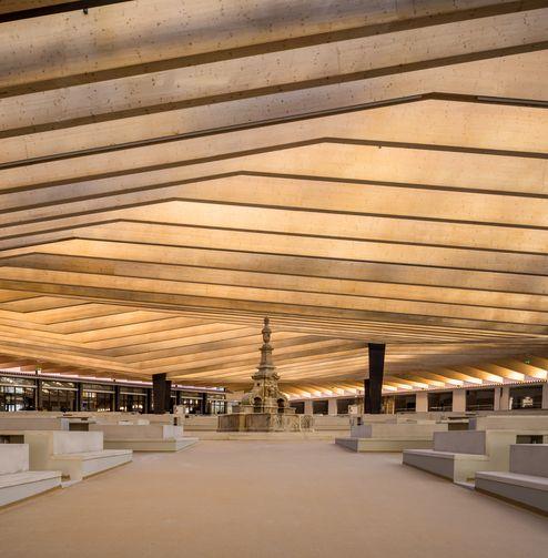Une ambiance unique à l'intérieur © FG+SG | ARCHITECTURAL PHOTOGRAPHY
