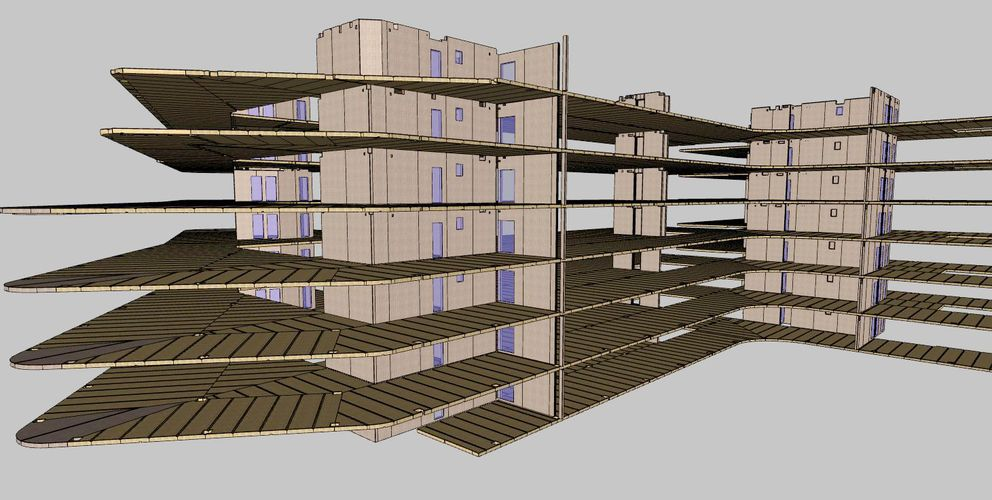 3D Gebäudeplanung © binderholz