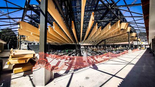 Construction hybride combinée avec panneaux 3 plis en bois massif binderholz © R6 Living
