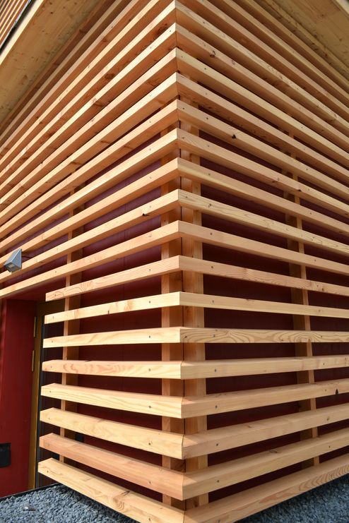 Fassadendetail © binderholz