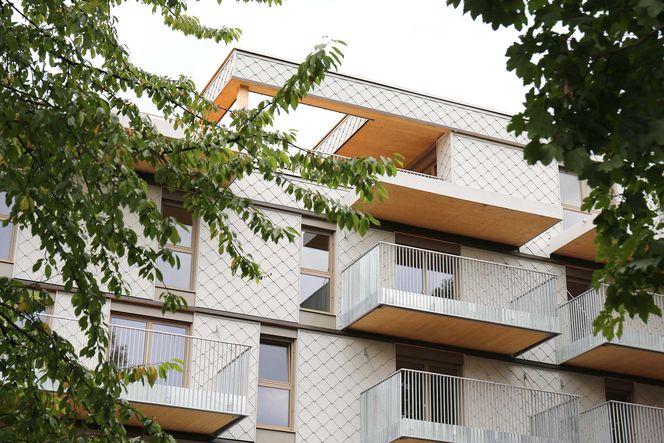 Außenfassade des Wohnhauses © j-c-k Janser Castorina Katzenberger