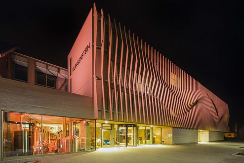 Beleuchtung des neuen Gebäude © Conné van d'Grachten