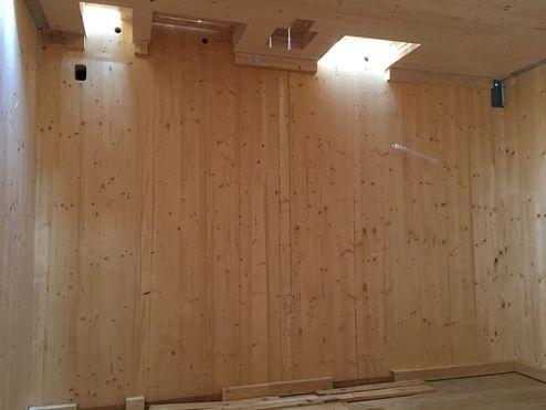 Sichtbare binderholz Brettsperrholz Wandelemente © binderholz