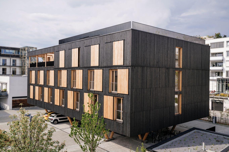 Il legno come elemento centrale © Manfred Jarisch, Bayerische Staatsforsten