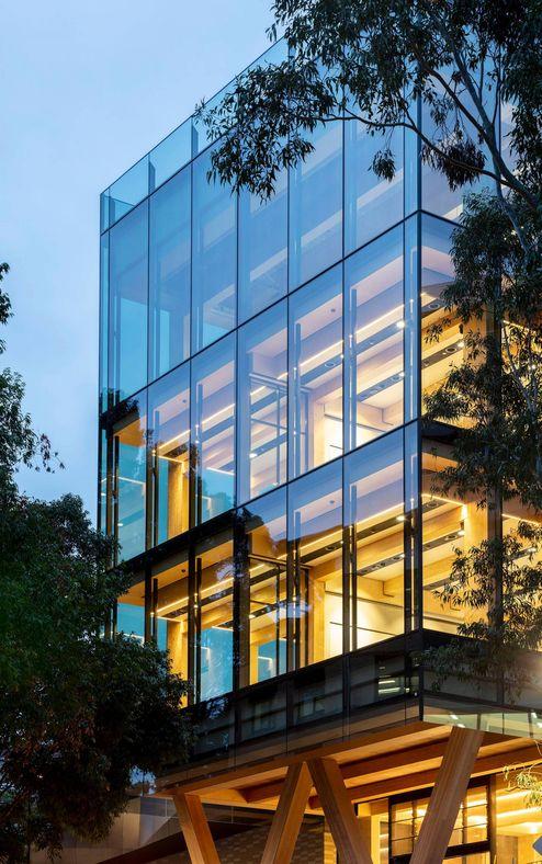 Beleuchtung des neuen Gebäudekomplexes © architectus