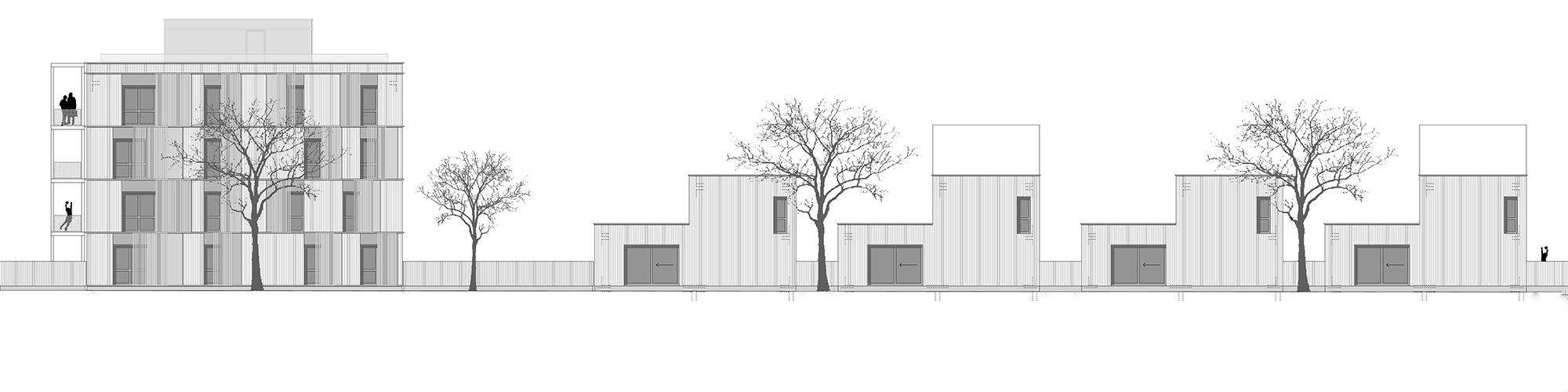 Rendering Baufeld WA 16 Ost © dressler mayerhofer roessler architekten und stadtplaner