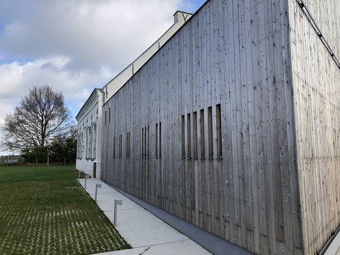 Fassade aus Lärchen-Profilholz © binderholz