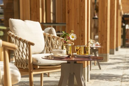 Cosy seating options in the outdoor area © ZillerSeasons