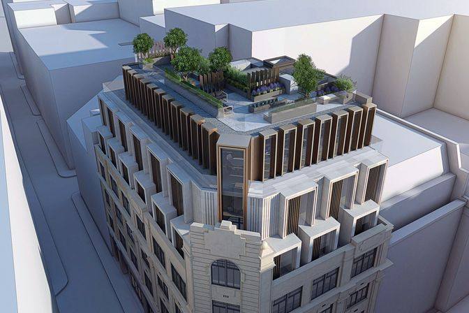 Rendering © RED Construction Group