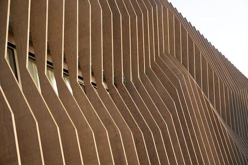 Fassadedetail © müllerblaustein