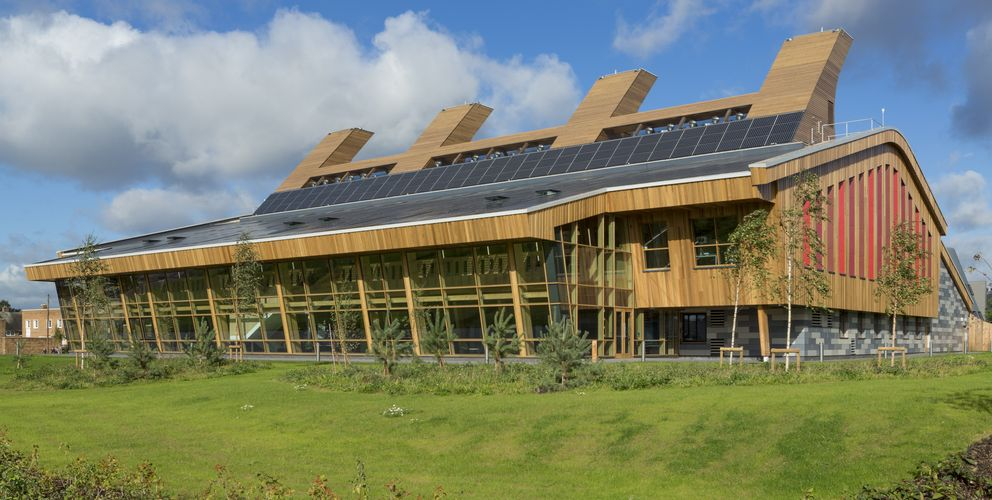 The GSK - klimaneutrales Labor, Nottingsham | Großbritannien © b&k structures