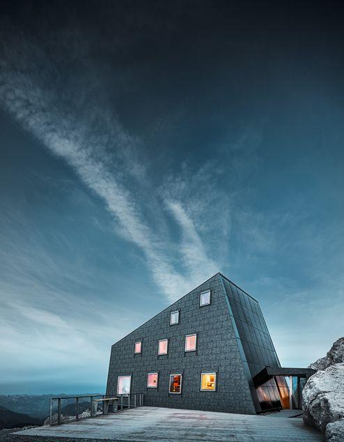 Rifugio Seethalerhuette © PREFA/Croce & Wir