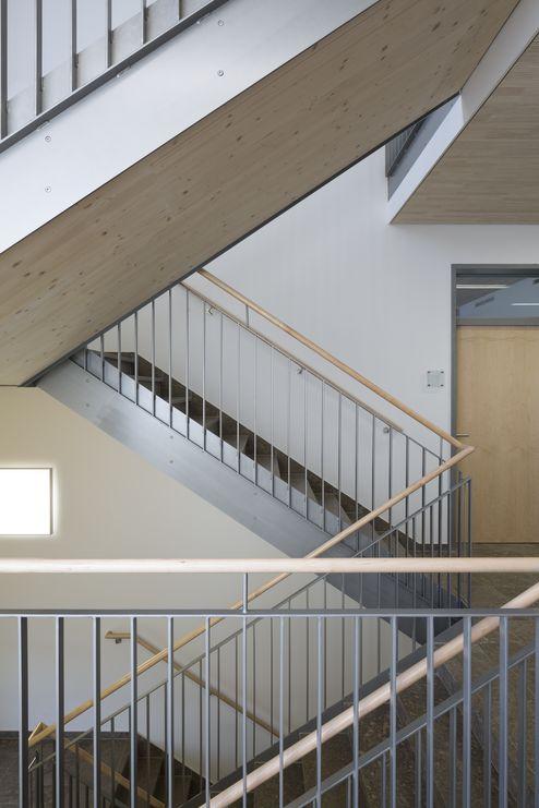 Treppenläufe aus binderholz Brettsperrholz BBS Elementen