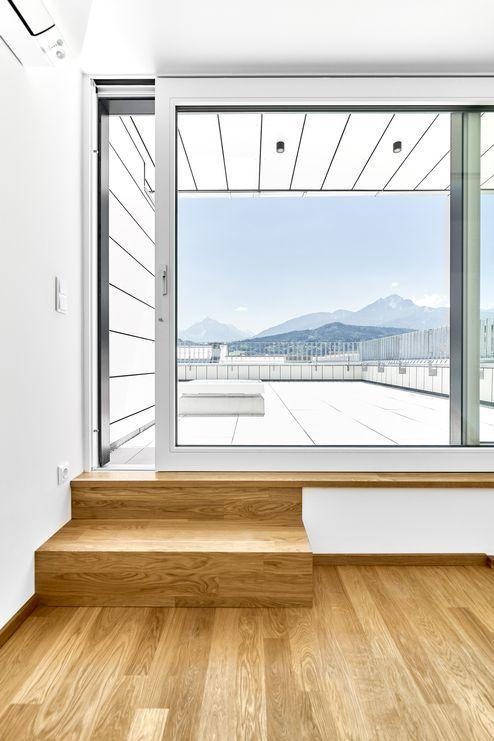 Übergang zur Terrasse © Gerhard Hauser, Alexander Schmid